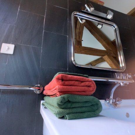 Salle de bain privative dans la Chambre de l'Atelier